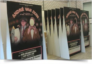 LIFESIZE DISPLAY ANDRE VAN DUIN