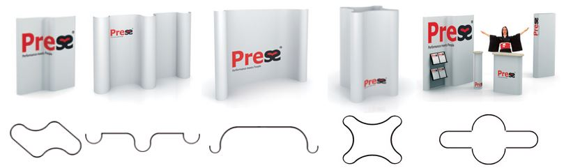 Press stands systeem