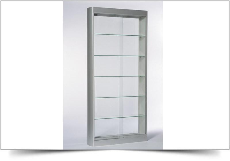 hoge smalle vitrinekast huren