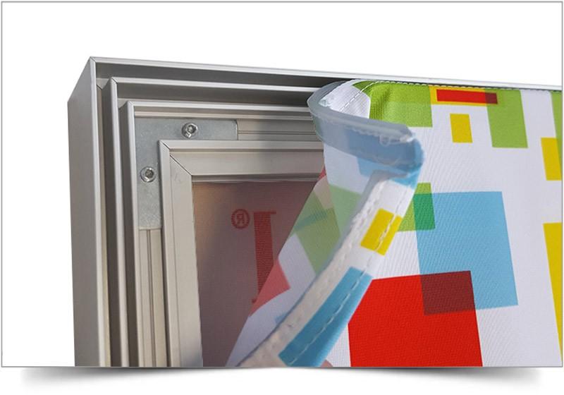 vrijstaand frame met doek