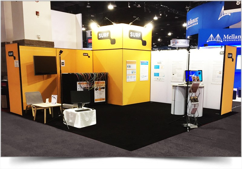 modulaire stand