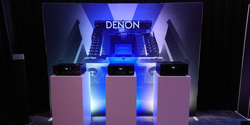 Pop Up met doek Denon