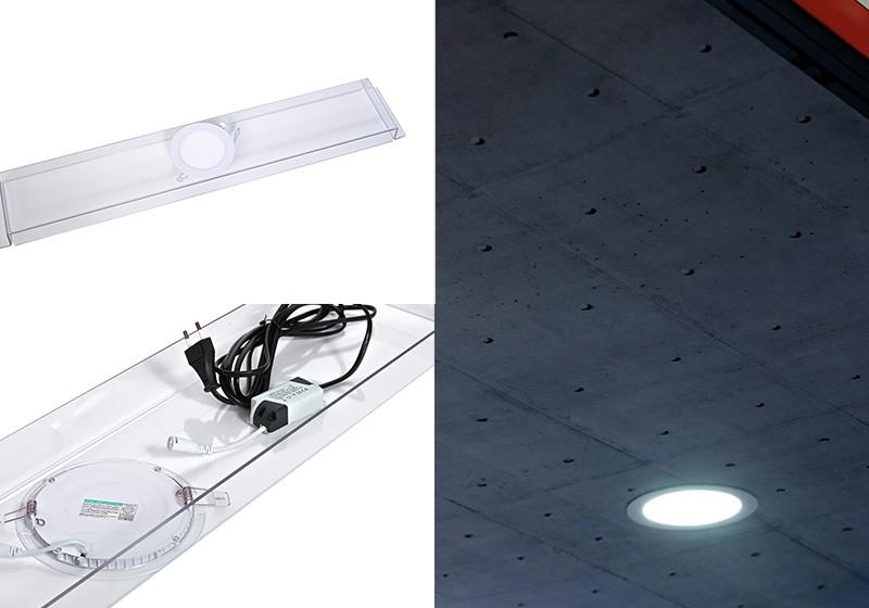 Easystand LED voor brug