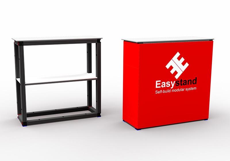Easystand stevige beursbalie 100x40x100cm