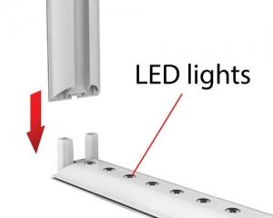 LED-white-frame-montage