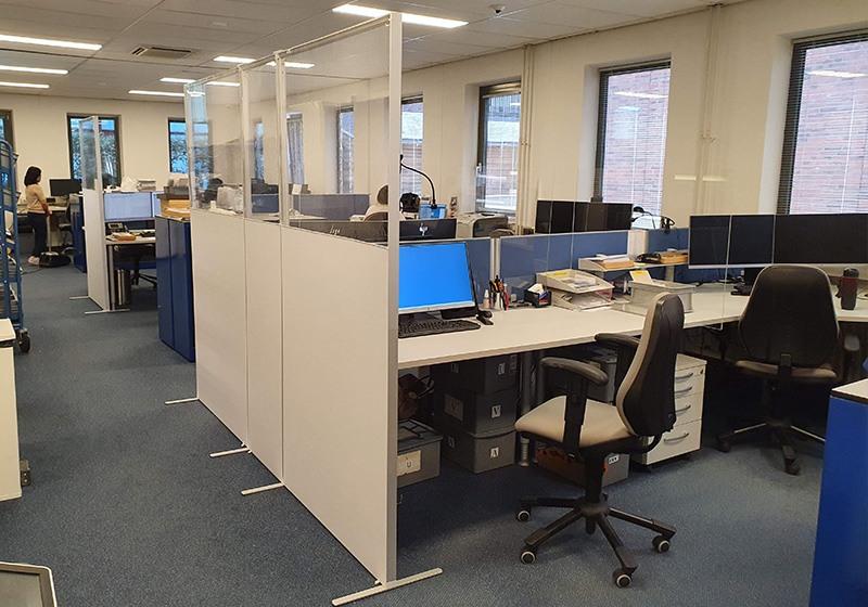 Scheidingswanden kantoor werkplek
