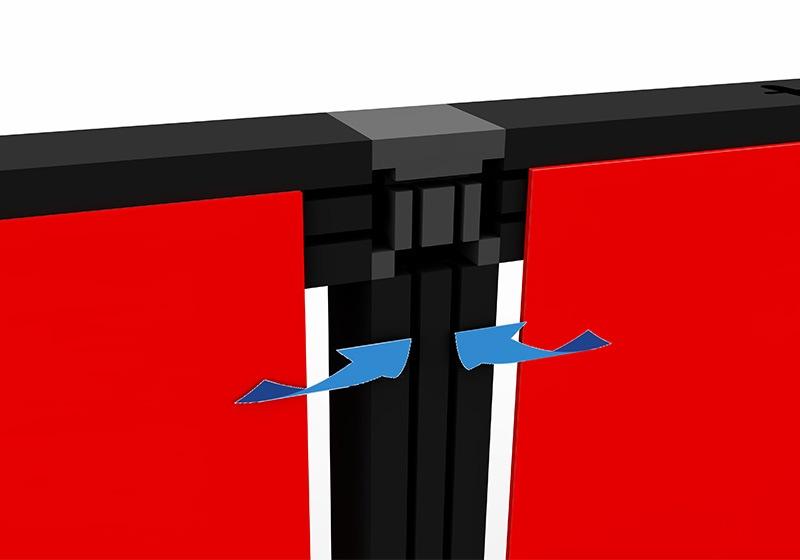 Easystand modulaire stand plaatsing doeken