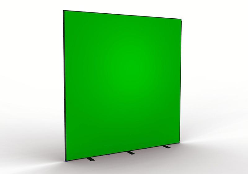 Groene achtergrond voor video en fotografie