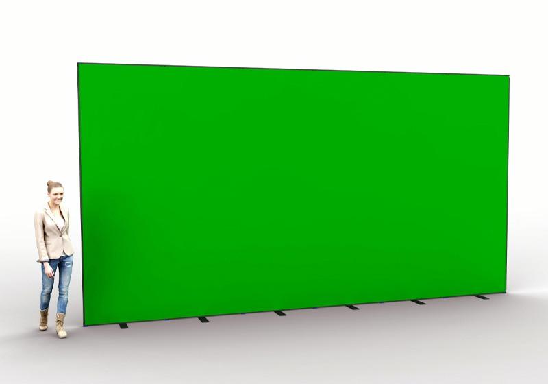 Groene achtergrond voor webinar